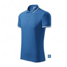 Polo shirt for Men art.219 S-3XL contrast stripes on collar