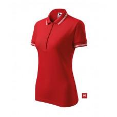 Polo shirt for Women art.220 XS-2XL contrast stripes on collar