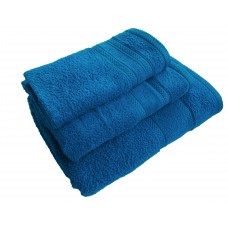 Terry towel Lux Supersoft 70x140cm 450g/m² blue