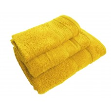 Terry towel Lux Supersoft 70x140cm 450g/m² yellow