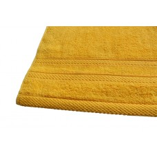 Terry towel Lux Supersoft 45x80cm 450g/m² yellow