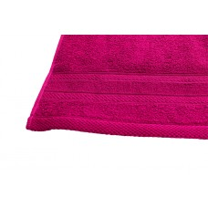 Terry towel Lux Supersoft 45x80cm 450g/m² fuxia