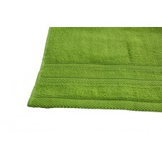 Terry towel Lux Supersoft 45x80cm 450g/m² sunny green