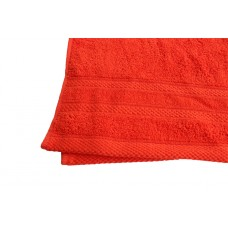 Terry towel Lux Supersoft 45x80cm 450g/m² orange