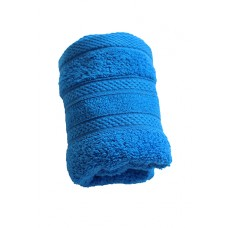 Terry towel Lux Supersoft 30x50cm 450g/m² blue