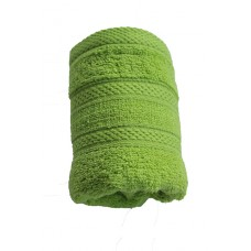 Terry towel Lux Supersoft 30x50cm 450g/m² sunny green