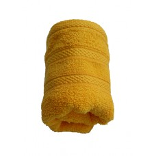 Terry towel Lux Supersoft 30x50cm 450g/m² yellow