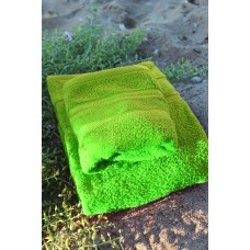 Terry towel Lux Supersoft 70x140cm 450g/m² sunny green