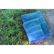 Terry towel Lux Supersoft 70x140cm 450g/m² blue