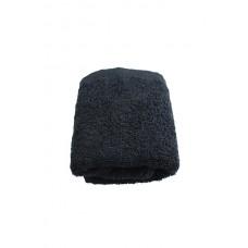 Terry towel Basic 400gsm 30x50cm black