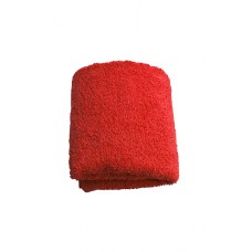 Terry towel Basic 400gsm 30x50cm red