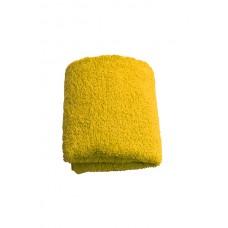 Terry towel Basic 400gsm 30x50cm yellow