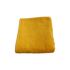 Terry towel Basic 400gsm 45x80cm yellow