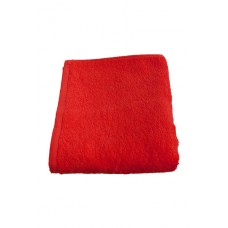 Terry towel Basic 400gsm 45x80cm red