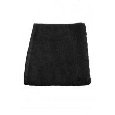 Terry towel Basic 400gsm 45x80cm black