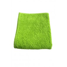 Terry towel Basic 400gsm 45x80cm lime green