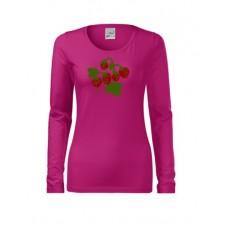 Naiste pikkade käistega särk Maasikad XS-2XL