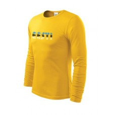 Long sleeve shirt for Men Eesti S-2XL
