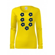 Long sleeve shirt for Women Pidu XS-2XL