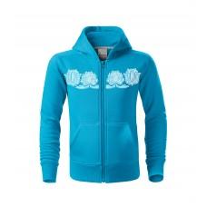 Hooded sweatshirt for kids Liilia 122cm-158cm