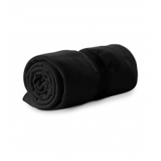 Polar fleece 120x150cm 200g/m² black