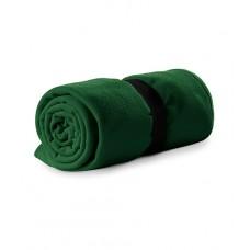 Polar fleece 120x150cm 200g/m² bottle green