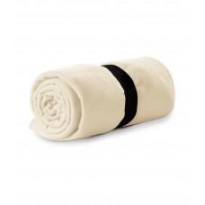 Polar fleece 120x150cm 200g/m² white