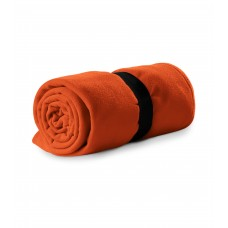 Polar fleece 120x150cm 200g/m² orange