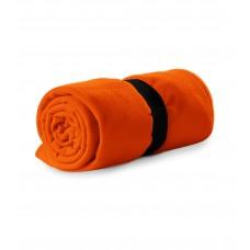 Polar fleece 120x150cm 200g/m² orange