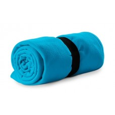 Polar fleece 120x150cm 200g/m² blue atoll