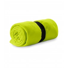 Polar fleece 120x150cm 200g/m² lime