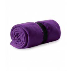 Polar fleece 120x150cm 200g/m² purple