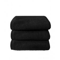 Terry towel Basic 400gsm 50x90cm black