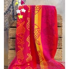 Beach towel Pink Dream 400gsm 70x140cm