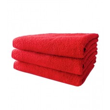 Terry towel Basic 400gsm 90x150cm red
