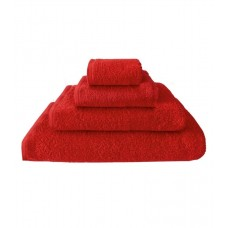 Terry towel Basic 400gsm 70x130cm red