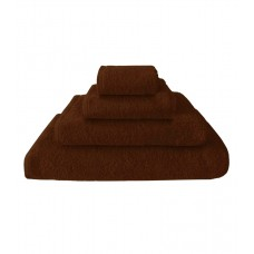 Terry towel Basic 400gsm 70x130cm brown
