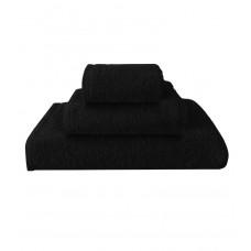 Terry towel Basic 400gsm 70x130cm black