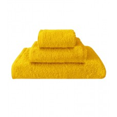 Terry towel Basic 400gsm 70x130cm yellow