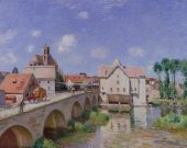 The Bridge at Moret, 1893